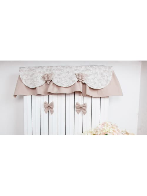 Angelica Home & Country copritermosifone Lady Rose Beige