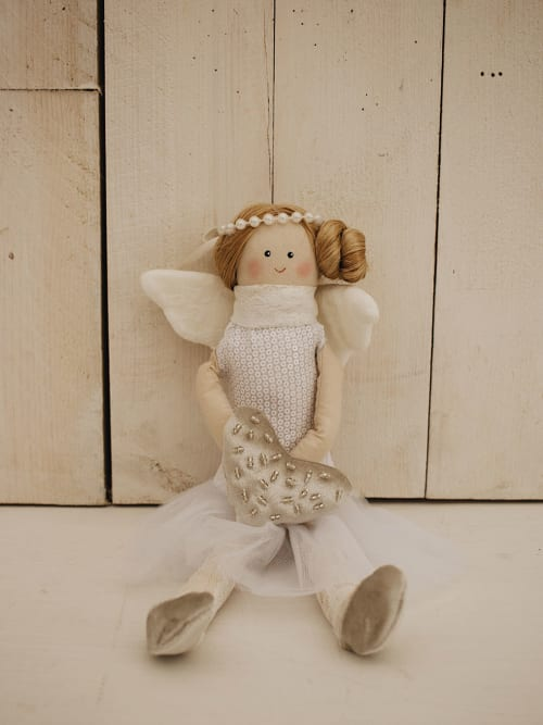 Bambola Isidora da appendere o da seduta