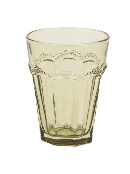 Angelica Home & Country bicchiere Antoniette verde
