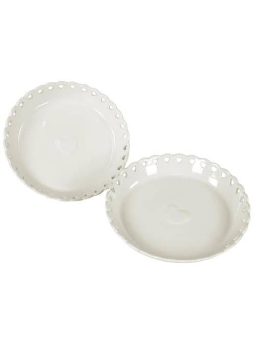 Piatto tortiera per dolci in ceramica - Lorenzongift