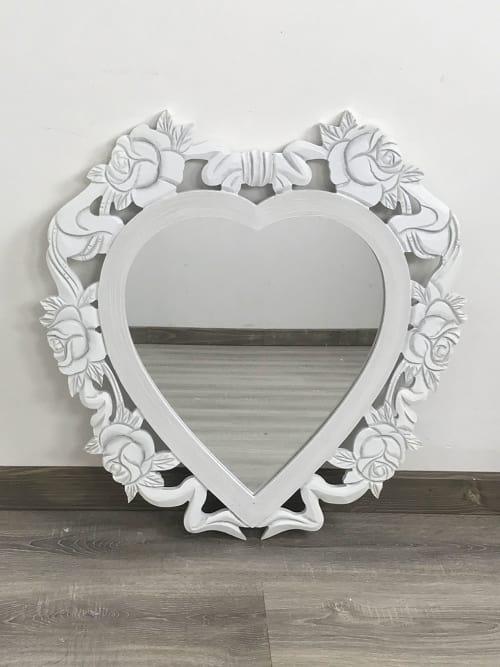 Specchio cuore Shabby Chic - Ad Trend
