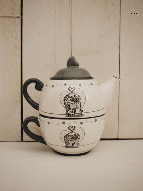 Teiera con tazza Chabada - Faye