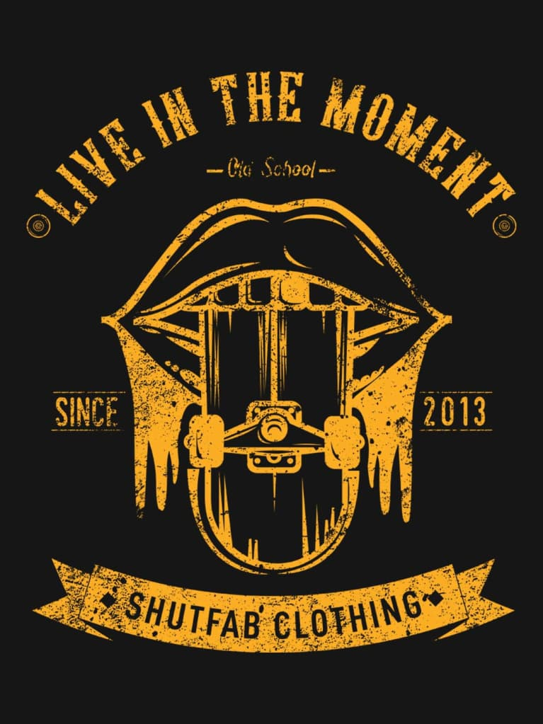 Living In The Moment Graphic Tee