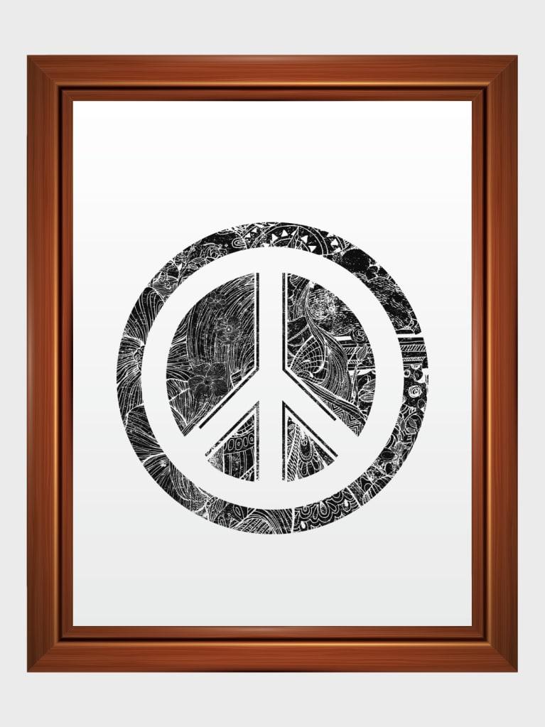 PeaceFor the World Art Frame