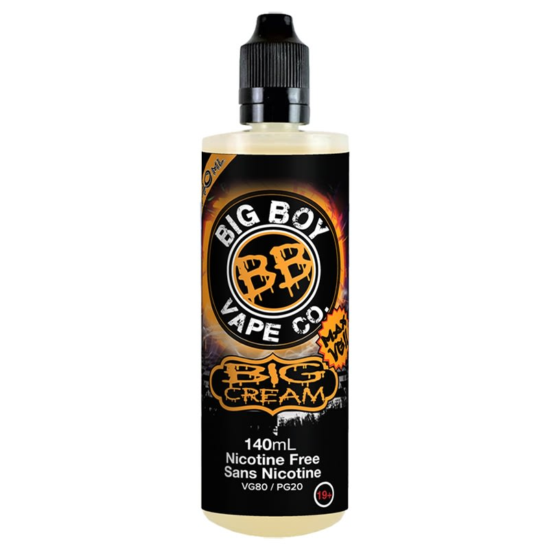 Big Cream E-Liquid By Big Boy