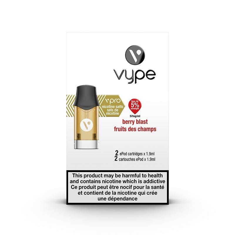 Vype ePod vPro Pod - Berry Blast (2pk)