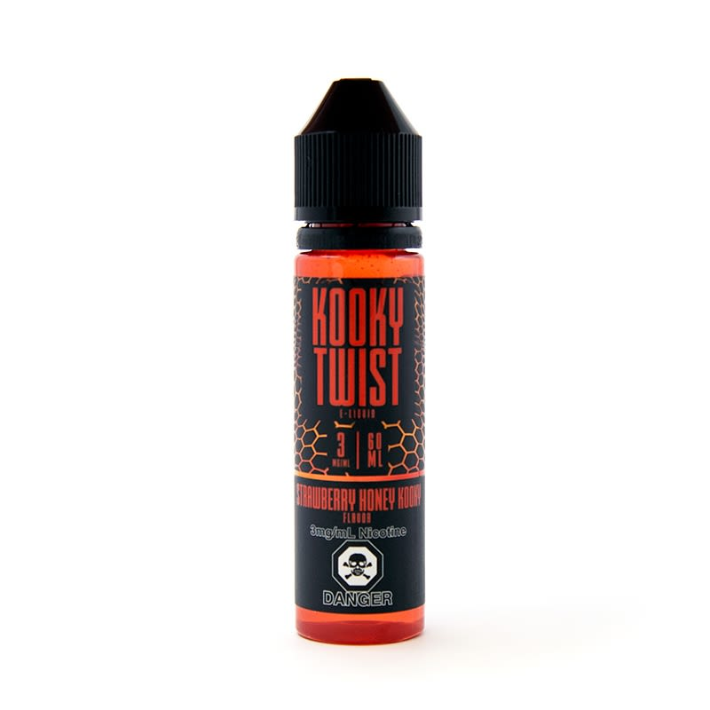 Strawberry Honey Kooky E-Liquid by Kooky Twist 60mL
