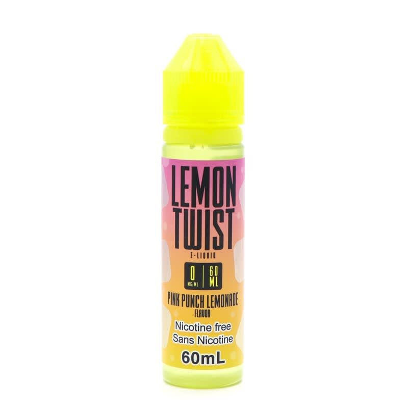 Pink Punch Lemonade E-Liquid - Lemon Twist (60mL)