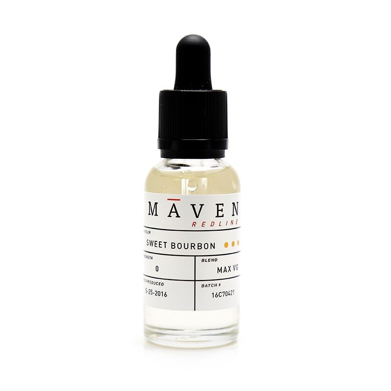 Sweet Bourbon E-Liquid by Maven - 30ml