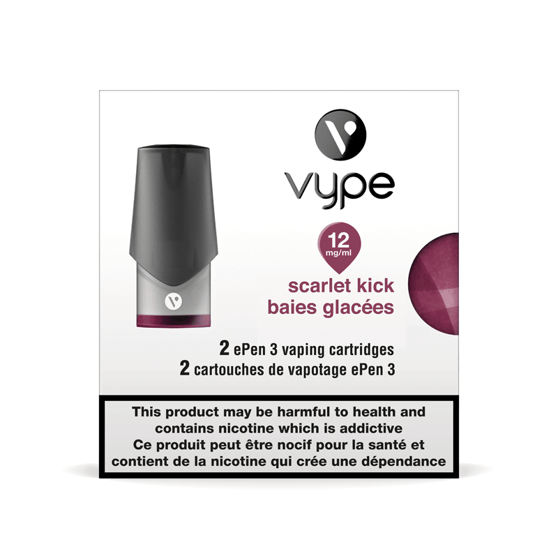 Vype ePen 3 Scarlet Kick Cartridges (2pk)