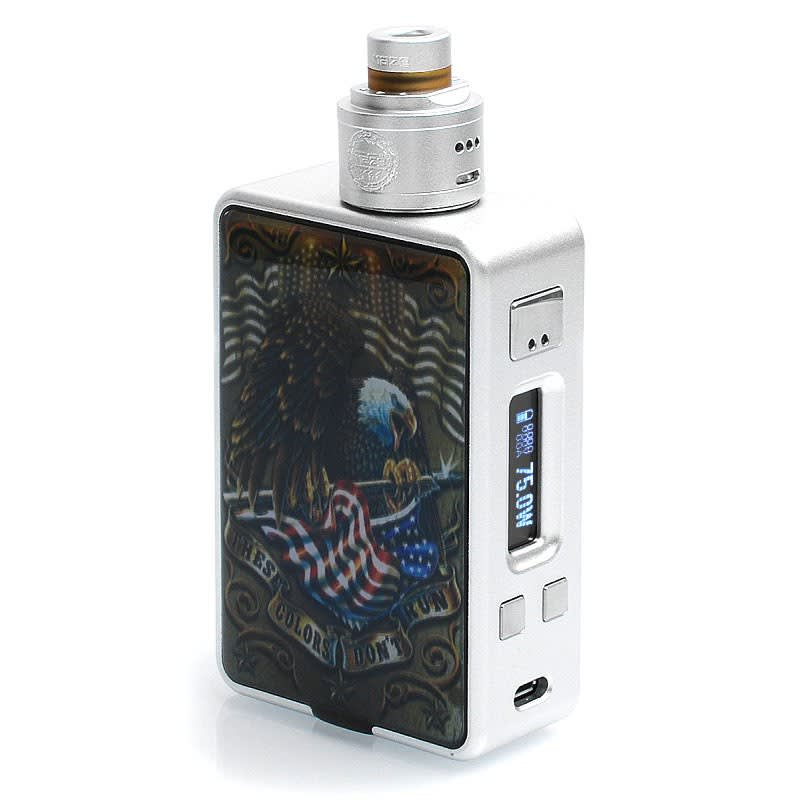 HCigar VT Inbox DNA75 Squonk Kit - Stainless Steel