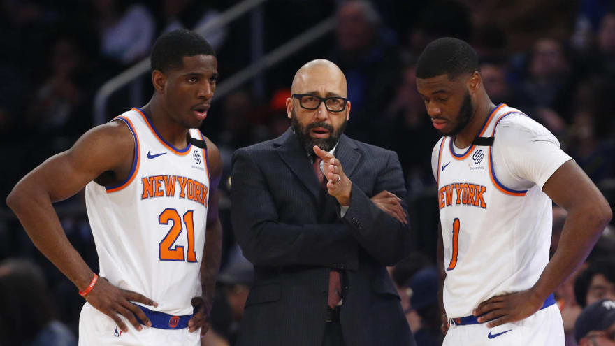 Report: Knicks held players-only meeting supporting Fizdale hours before firing