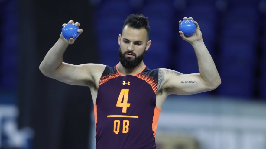 Report: Will Grier rising up draft boards after impressive Pro Day