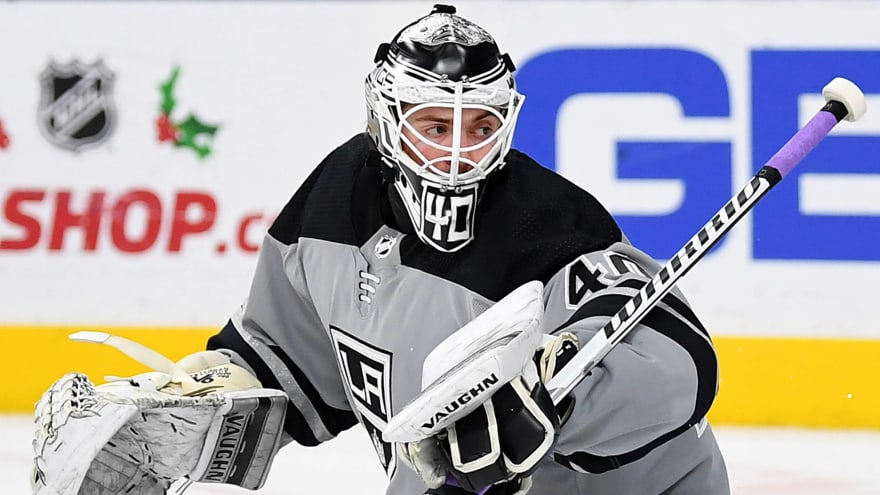 Kings sign goalie prospect Cal Petersen to multi-year contract