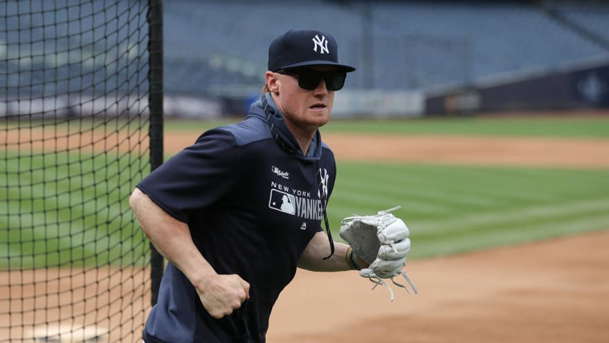 Watch: Clint Frazier turns fly ball into triple with misplay in outfield