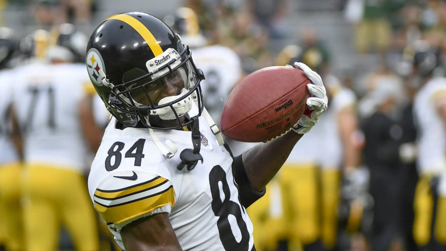 be00f3aedff Steelers reportedly close on a deal to trade Antonio Brown  three teams   still alive