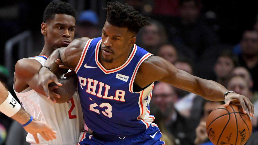 5d20ec862 Report  Jimmy Butler clashing with Brett Brown over role in 76ers  system