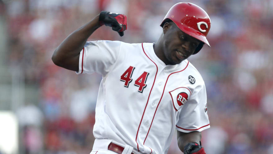 Reds' Aristides Aquino is the hottest player in baseball