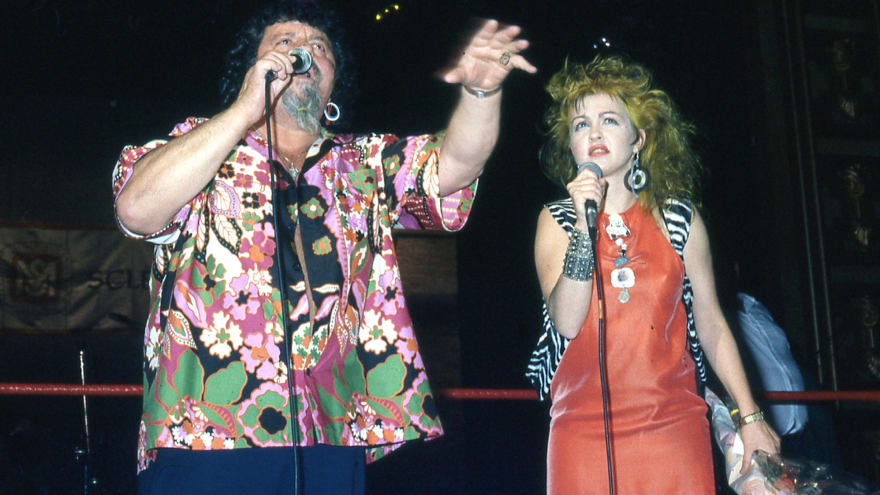 How Cyndi Lauper made pro wrestling what it is today