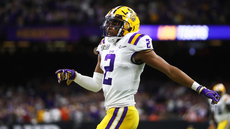 LSU star receiver Justin Jefferson declares for the 2020 NFL Draft