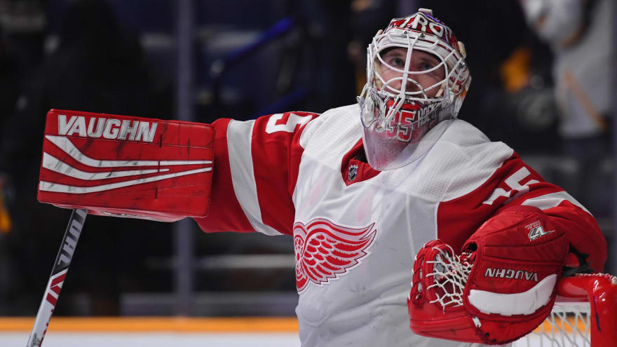 321c5bb7b5e Red Wings to resume extension talks with goalie Jimmy Howard ...