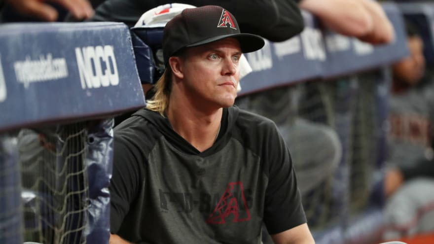 Report: D-backs willing to eat significant portion of Zack Greinke's salary in trade