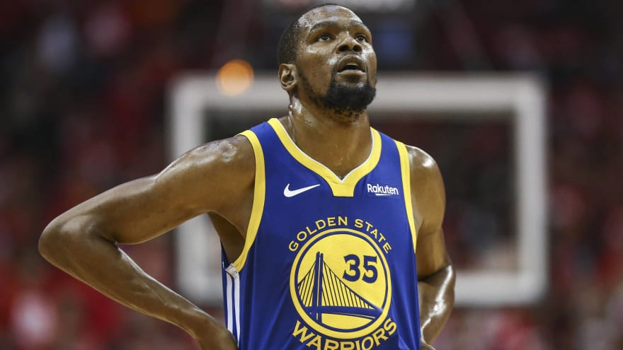 huge selection of 288a7 d927f Warriors owner clarifies plan to retire Kevin Durant's ...