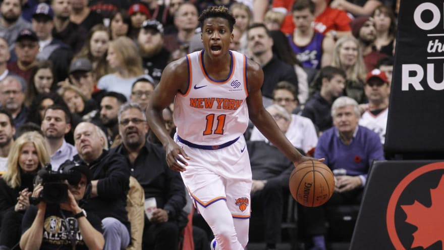 Frank Ntilikina would reportedly welcome trade