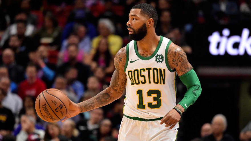 online store 8bfa0 4307f Marcus Morris can't figure out what's wrong with Celtics ...