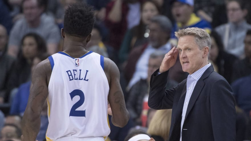 Steve Kerr explains issue with Jordan Bell that led to heated exchange