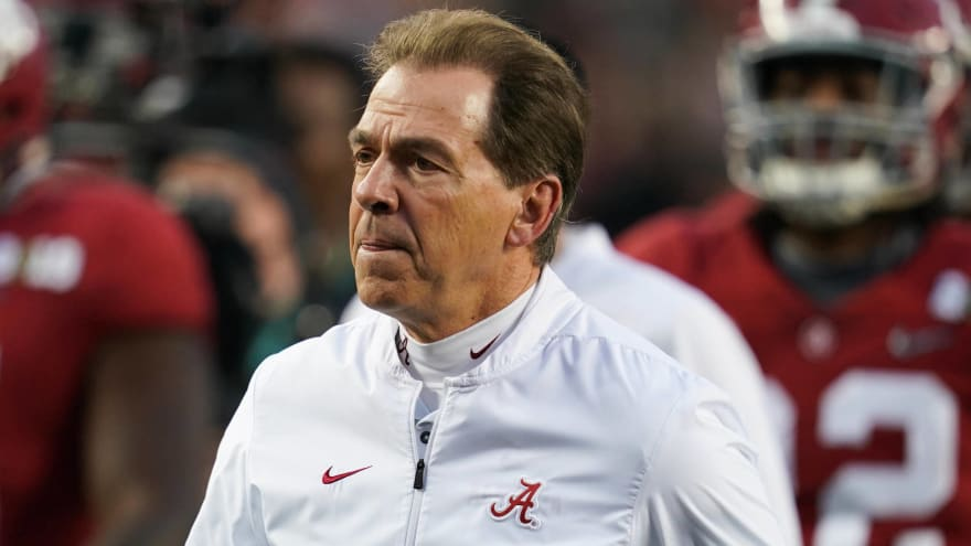Nick Saban offers epic quote about players talking trash