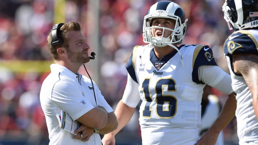 Pressure mounting on Sean McVay, Jared Goff to get Rams' stagnant offense back on track