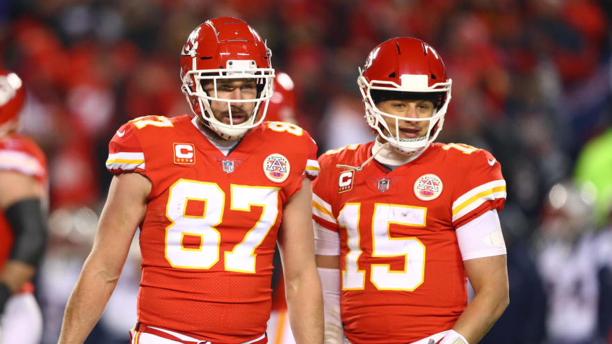 Watch Patrick Mahomes Was So Happy To Have Travis Kelce