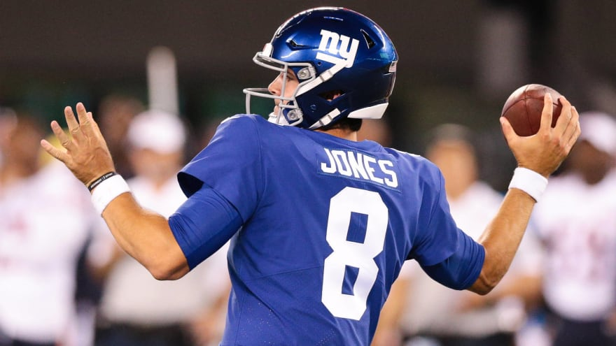 Giants' belief appears to be that Daniel Jones is not ready to replace Eli Manning
