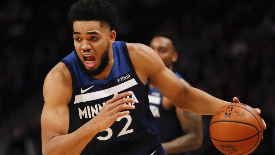 Karl-Anthony Towns to have MRI today after sustaining knee