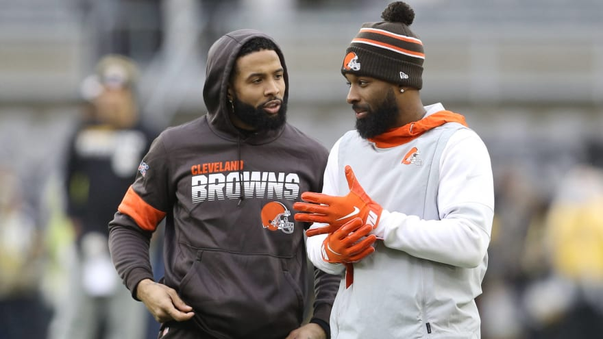 Jarvis Landry insists Odell Beckham 'doesn't want to leave' Browns