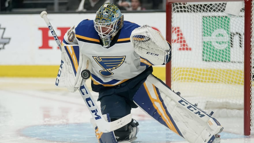 Jordan Binnington's Bruins past could play a role in Stanley Cup Final