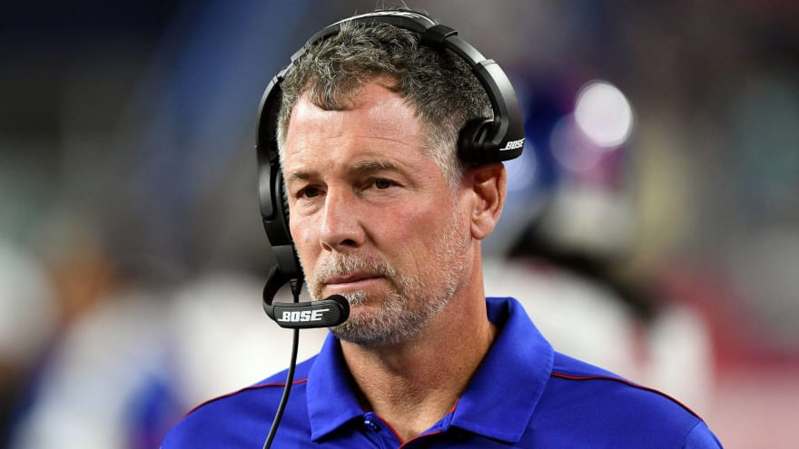 Giants coach responds to talk that he gave Bills bulletin board material