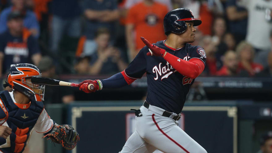Winners and losers from Game 1 of the World Series