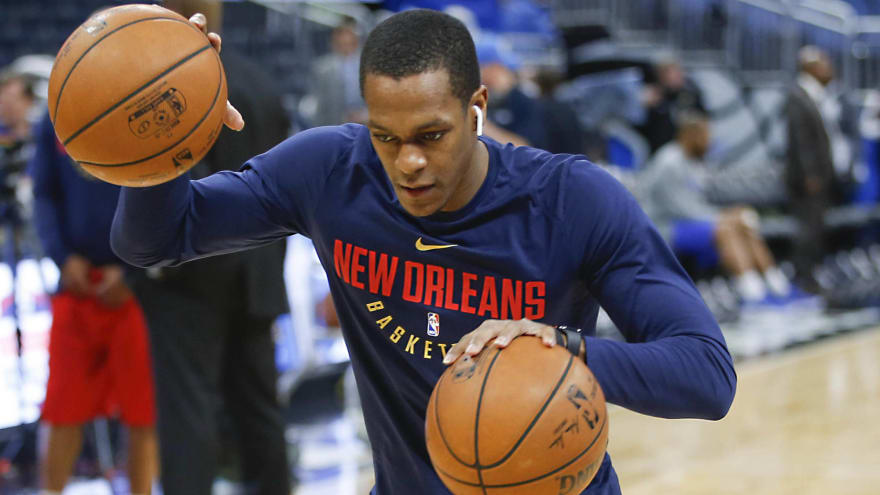 6a50195aa90 Report  Pelicans interested in re-signing Rajon Rondo