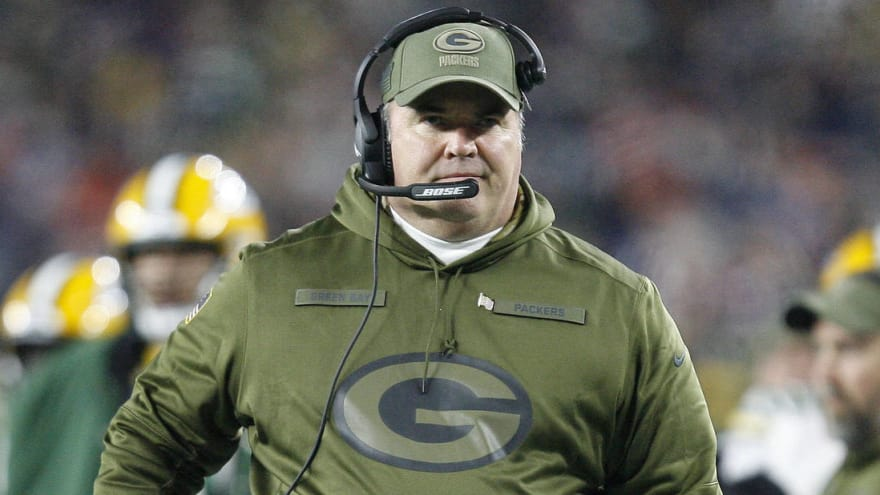 Mike McCarthy's job is 'pretty clearly' uncertain following Packers' struggles