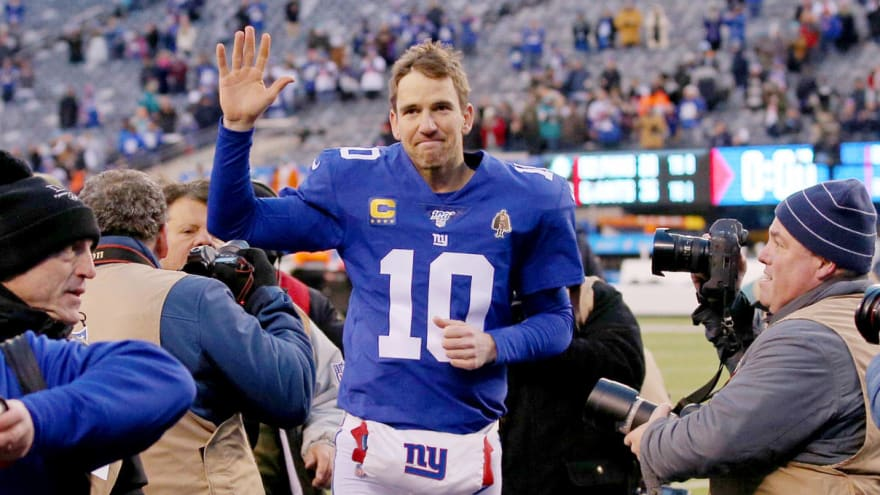 So long, Eli Manning. Your next stop is Hall of Fame.