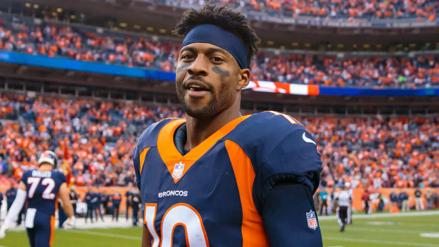 Watch: Emmanuel Sanders has made impressive recovery from torn Achilles