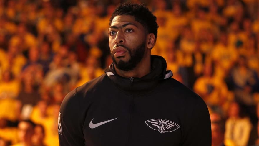 Anthony Davis reportedly has four-team wish list if he's traded