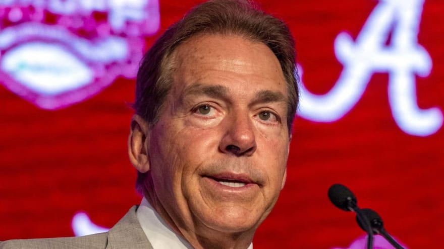 Nick Saban explains why he invited Ray Rice to speak to Alabama players
