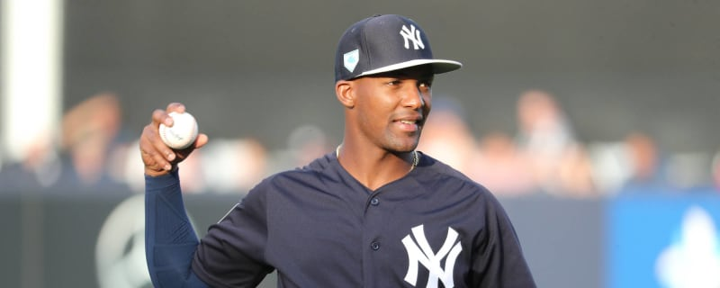 dd7c54734 Miguel Andujar could miss rest of season with labrum tear in right  shoulder. New York Yankees ...