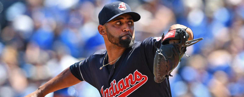 46180d7215b7e Indians  Danny Salazar to begin throwing next month