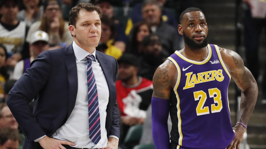 LeBron James empathizes with Luke Walton's lineup challenges