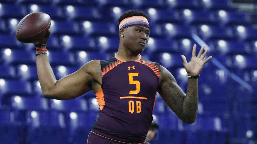 Some NFL teams reportedly don't have first-round grade on Dwayne Haskins