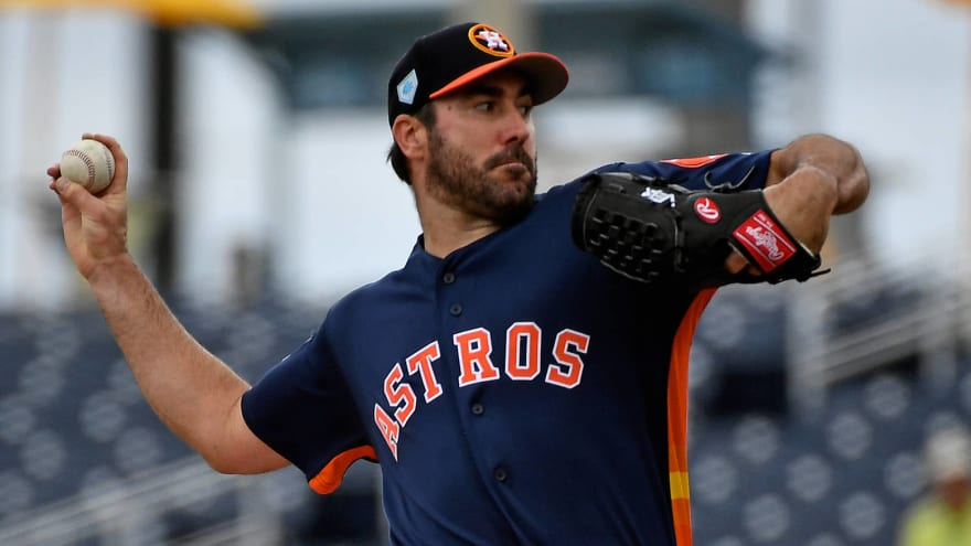 Astros unlikely to resolve extensions for Gerrit Cole, Justin Verlander